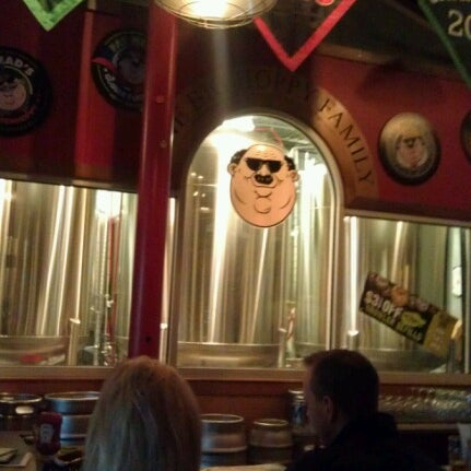 Photo taken at Fat Head's Brewery & Saloon by Ryan M. on 1/13/2013