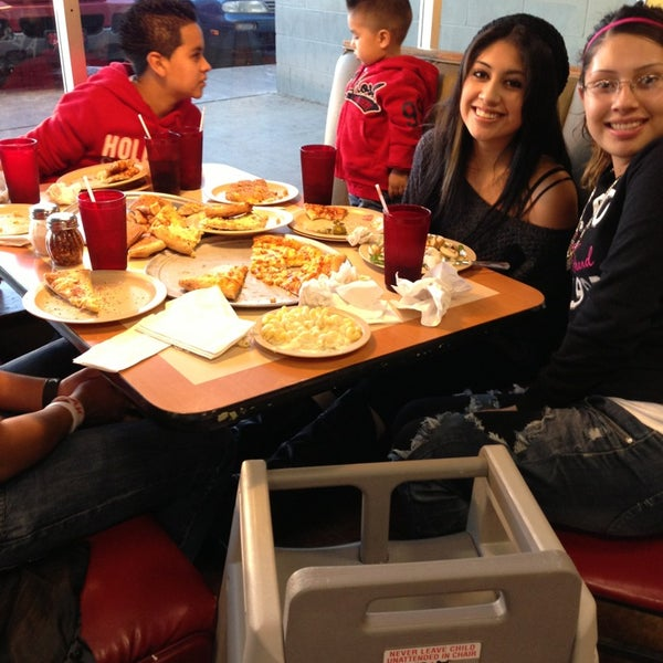Photo taken at Cici's Pizza by Michael J. on 1/4/2013