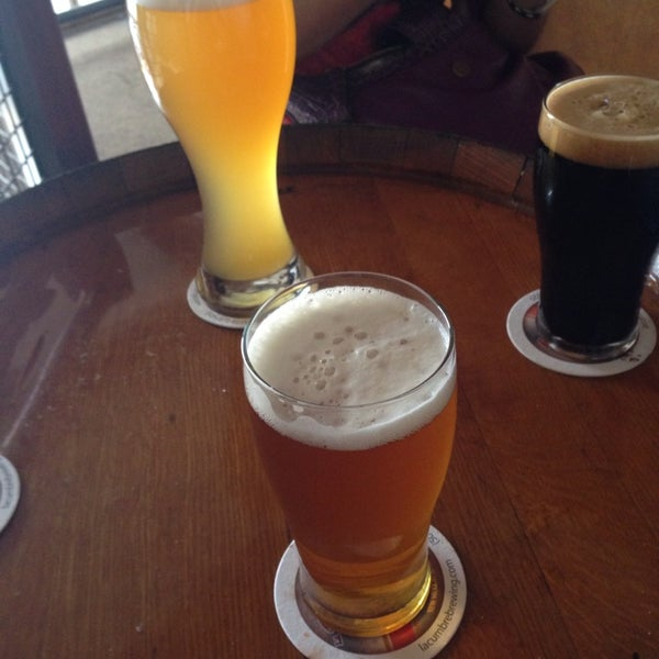 Photo taken at La Cumbre Brewing Company by Brian S. on 2/15/2014