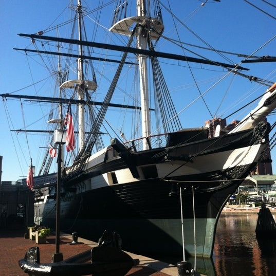 Photo taken at USS Constellation by stacy c. on 9/25/2012