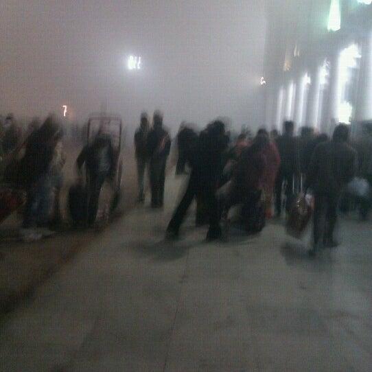 Photo taken at New Delhi Railway Station (NDLS) by Aditya N. on 12/23/2012