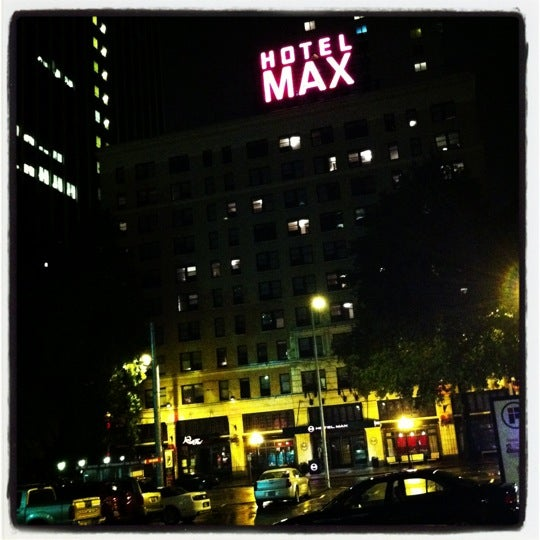 Photo taken at Hotel Max by Chris 😈 P. on 11/12/2012