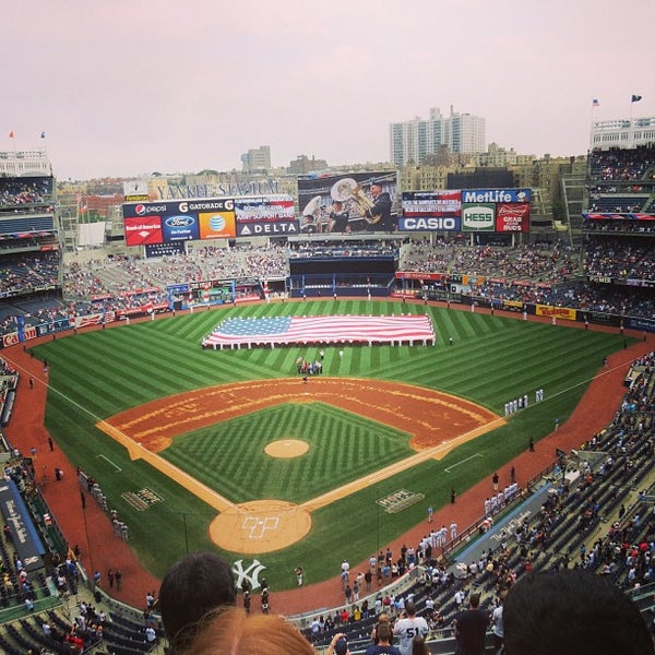 Photo taken at Yankee Stadium by E3Neenz on 7/13/2013