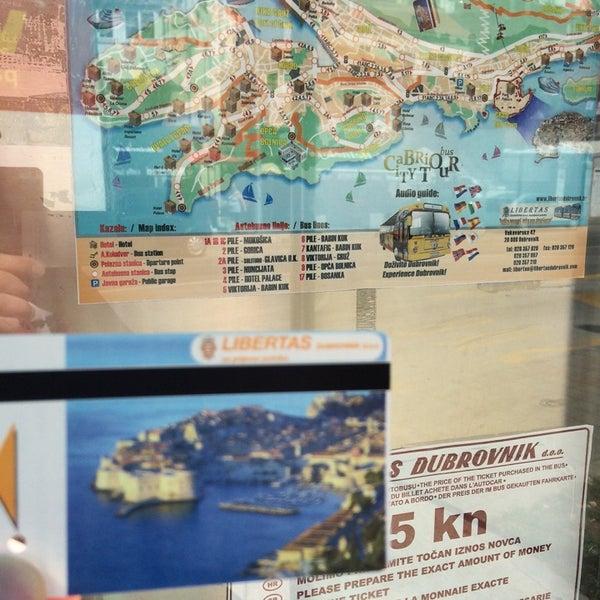 Photo taken at Autobusni Kolodvor Dubrovnik | Dubrovnik Bus Station by Skywalkerstyle on 6/3/2014