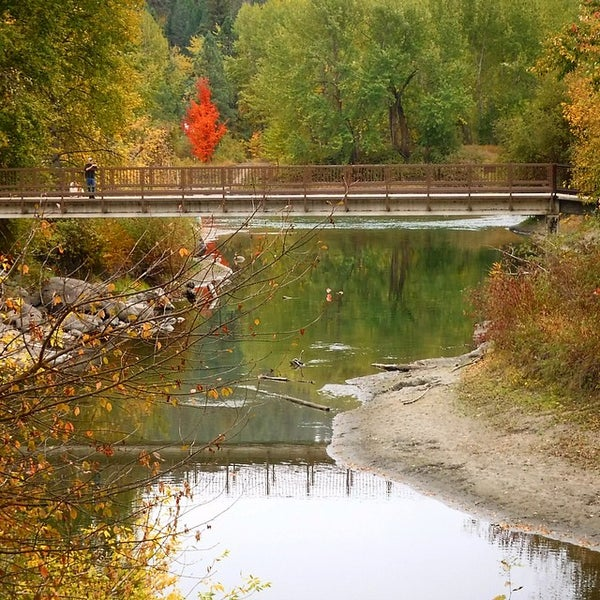 Photo taken at Town of Leavenworth by Arlene H. on 10/9/2015