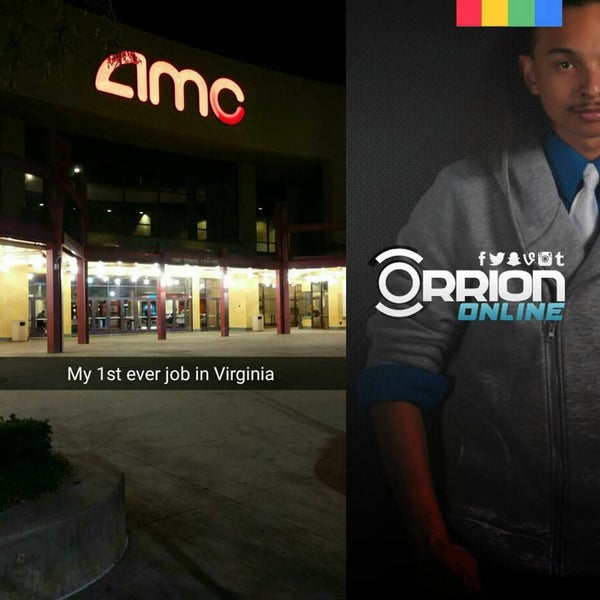 Photo taken at AMC Hampton Towne Centre 24 by Orrion H. on 10/10/2015