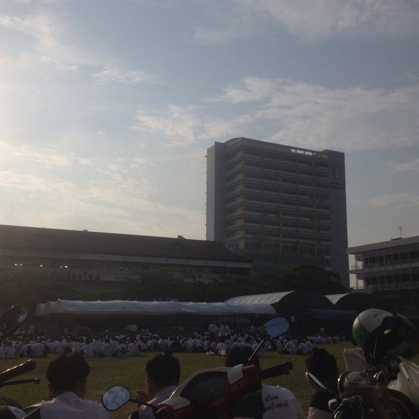 Photo taken at Chiang Mai Rajabhat University by Folk S. on 5/1/2016