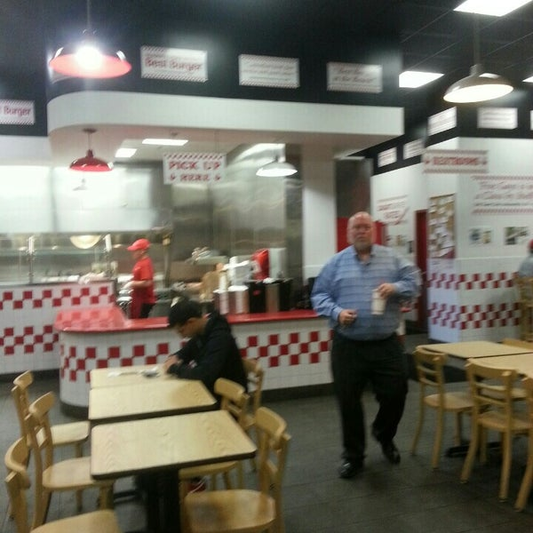 Photo taken at Five Guys by Matthew on 1/12/2015