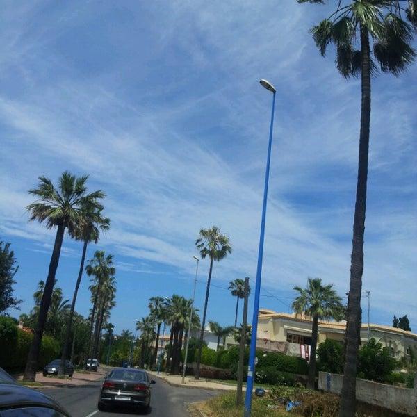 Photo taken at La Corniche de Casablanca by Sol Y Mar on 5/12/2013