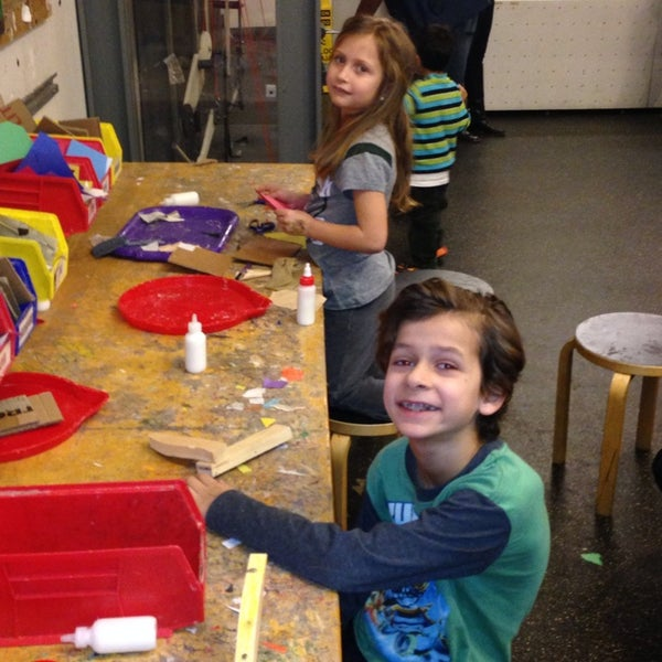 Photo taken at Long Island Children's Museum by Eric on 1/20/2014