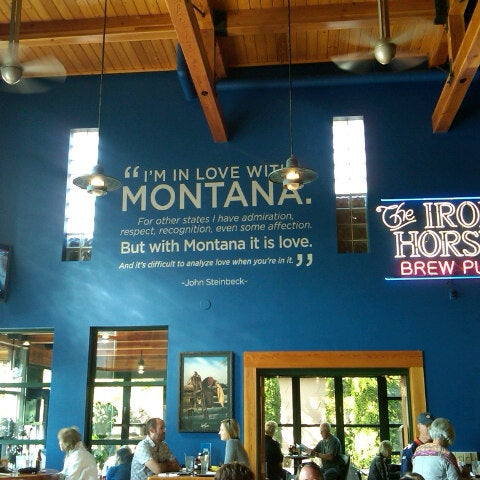 Photo taken at Iron Horse Brew Pub by Jeff D. on 10/7/2012