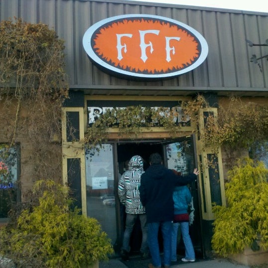 Photo taken at Three Floyds Brewery & Pub by Mio O. on 11/24/2012