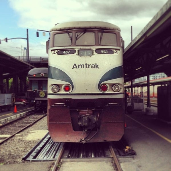 Photo taken at Union Station Amtrak (PDX) by Fritz M. on 9/6/2013