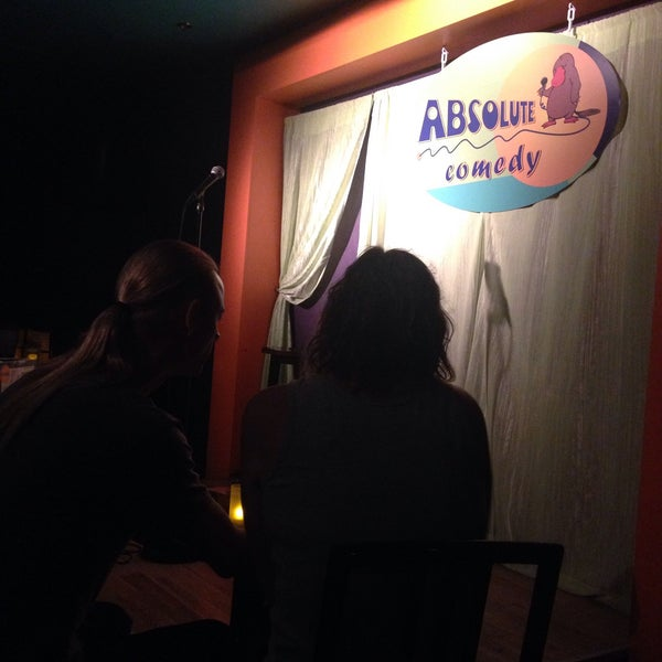 Photo taken at Absolute Comedy by Lucy T. on 9/6/2015