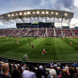 Photo taken at PPL Park by Chris S. on 6/23/2013