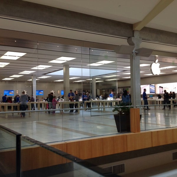 Photo taken at Apple Store, Bellevue Square by Michael L. on 3/9/2014