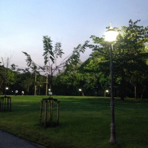 Photo taken at Queen Sirikit Park by Theacnx on 10/19/2016
