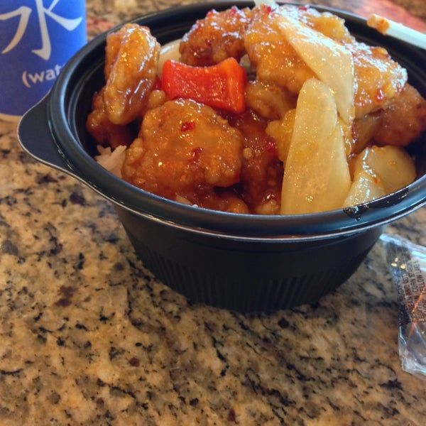 Photo taken at Panda Express by Kevin C. on 2/22/2013