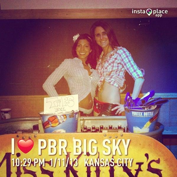 Photo taken at PBR Big Sky by DJ Soap on 1/12/2013