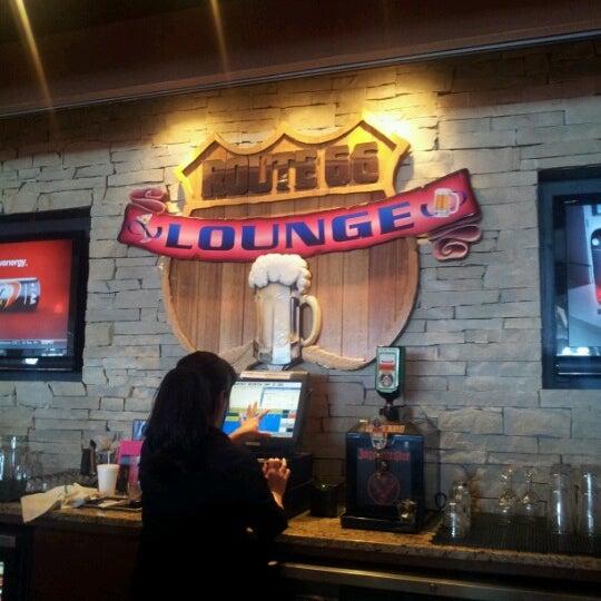 Photo taken at Route 66 Lounge by Rodrigo R. on 10/15/2012