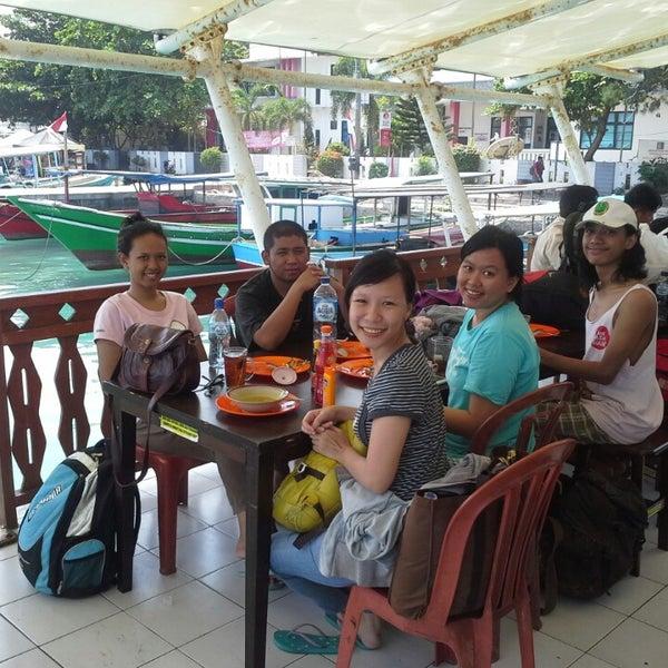 Photo taken at Pulau Pramuka by Anita E. on 8/26/2014