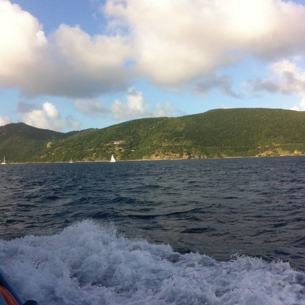 Photo taken at Jost Van Dyke Island by Brittany G. on 12/27/2013