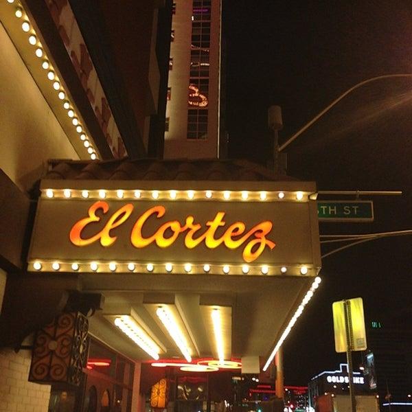 Photo taken at El Cortez Hotel & Casino by Jamez on 3/10/2013