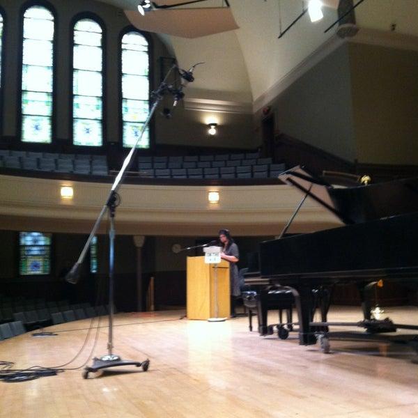 Photo taken at Hochstein School of Music & Dance by Meg C. on 11/13/2013