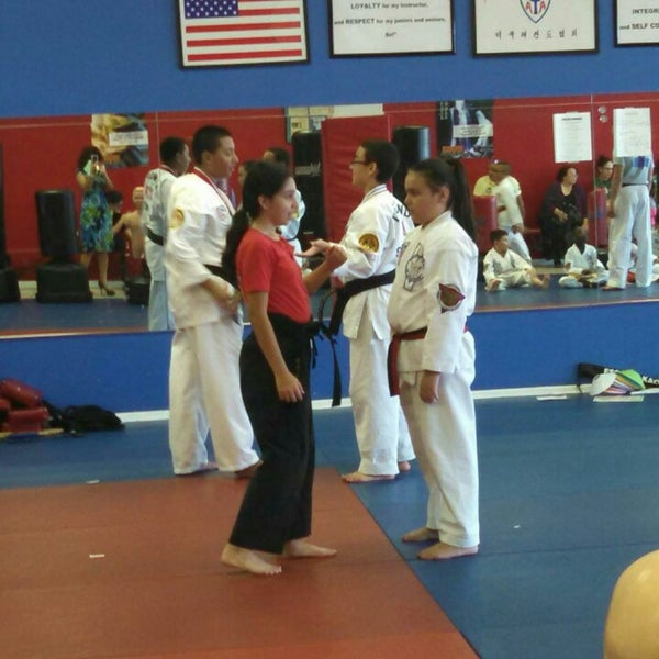 Photo taken at Karate America by Carlos C. on 7/28/2014