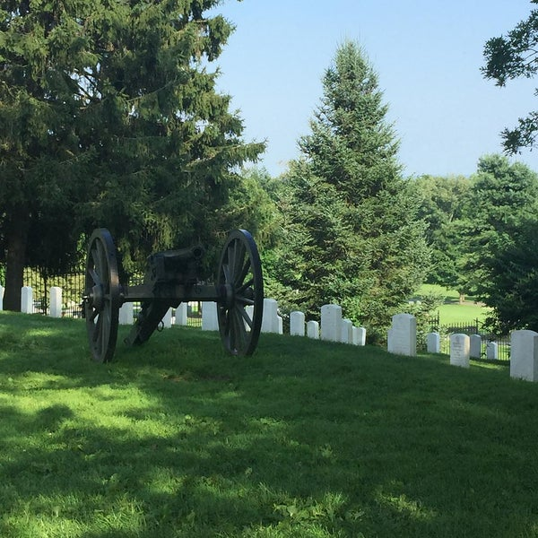 Photo taken at Soldiers' National Cemetery by Vince L. on 7/18/2015