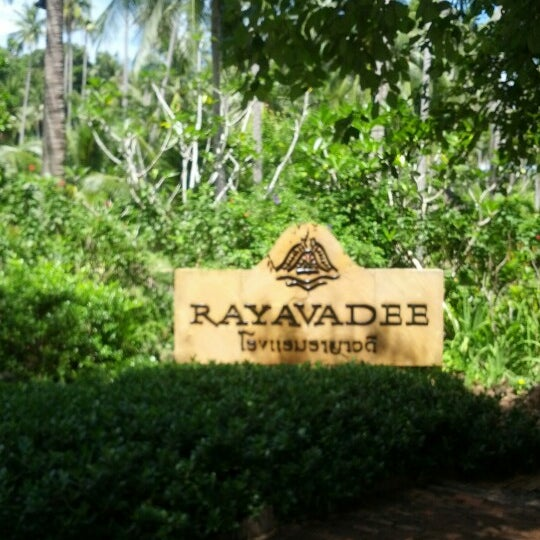 Photo taken at Rayavadee by Pornchai T. on 9/21/2012