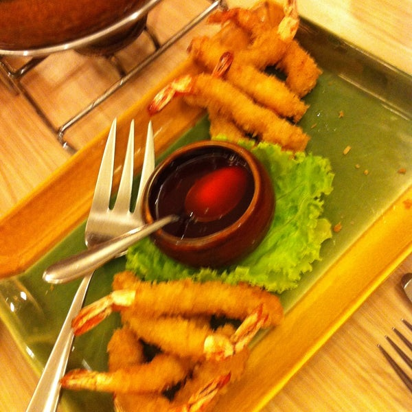 Photo taken at Sérye Café Filipino by Mich O. on 4/30/2013