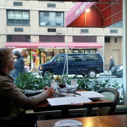 Photo taken at Union Square Cafe by Cary S. on 4/16/2014