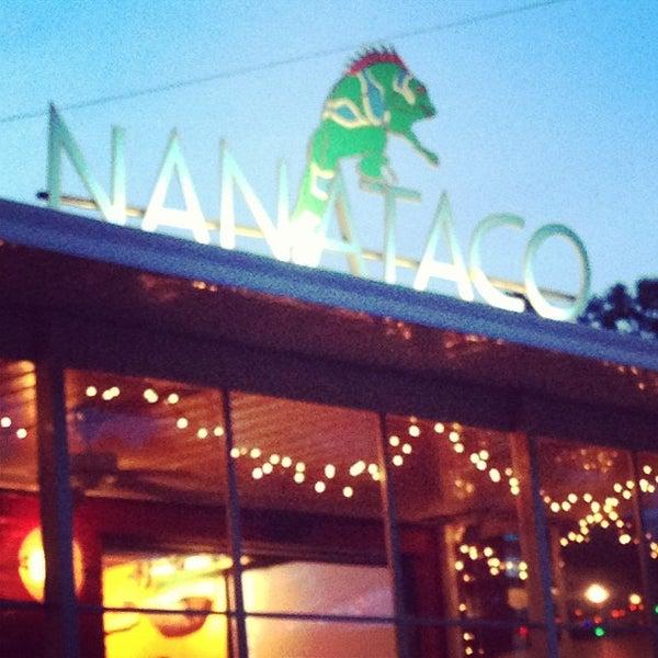 Photo taken at NanaTaco by carol g. on 8/19/2013