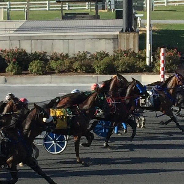Photo taken at Harrington Raceway & Casino by Vanessa P. on 8/30/2016