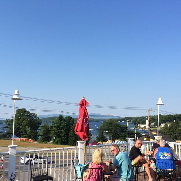 Photo taken at Weirs Beach Lobster Pound by Ken M. on 7/12/2014