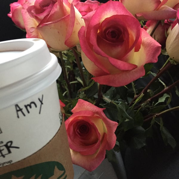 Photo taken at Starbucks by Amy B. on 1/22/2016