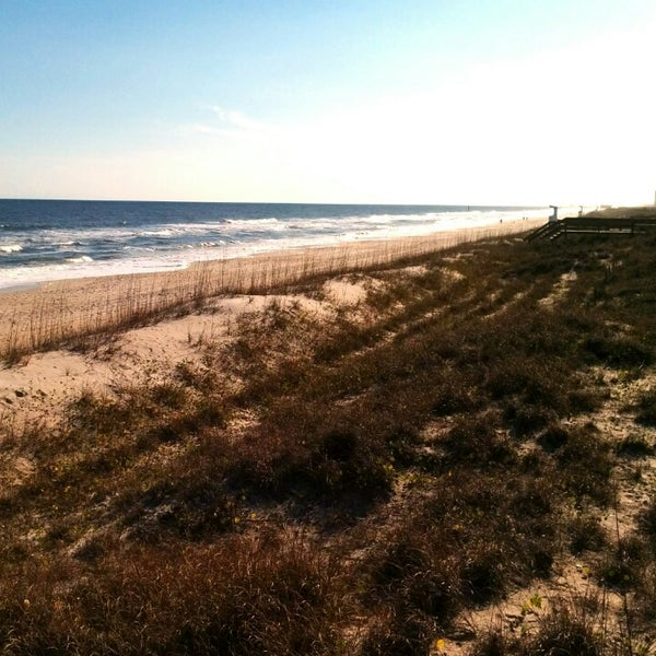 Photo taken at Carolina Beach by Erica J. on 12/28/2013
