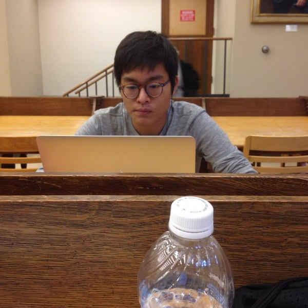 Photo taken at Uris Library by Erica H. on 10/20/2013