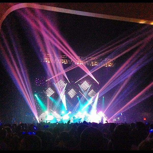Photo taken at Hammerstein Ballroom by Angela W. on 10/4/2012
