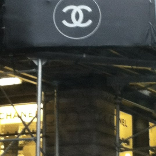 Photo taken at CHANEL Boutique by Eve Y. on 1/27/2013
