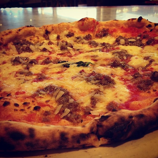 Photo taken at Franco Manca by Lawrence B. on 4/30/2013