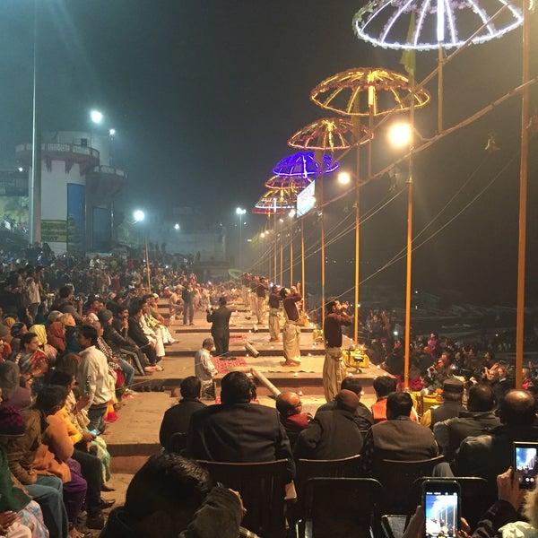 Photo taken at Dasaswamedh Ghat by Saksham G. on 1/20/2016