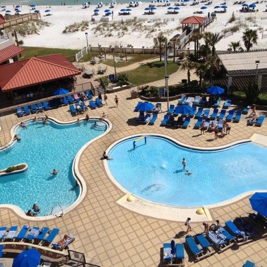 Photo taken at Hilton Pensacola Beach by Erin L. on 9/23/2012