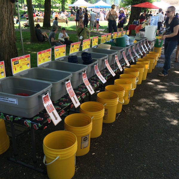 Photo taken at Portland Farmer's Market at PSU by Ruthie F. on 6/6/2015