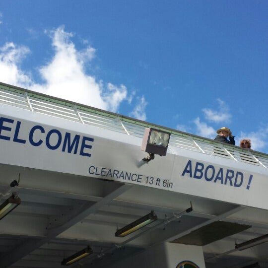 Photo taken at Cape May-Lewes Ferry | Cape May Terminal by Alex C. on 9/14/2013