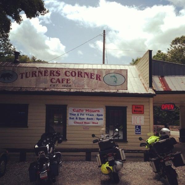 Turners Corner Cafe Address