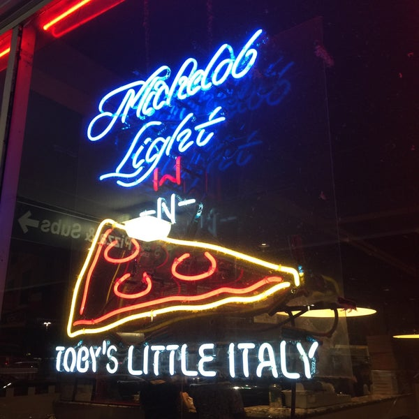 Photo taken at Toby's Original Little Italy Pizza by Cookie M. on 2/2/2016