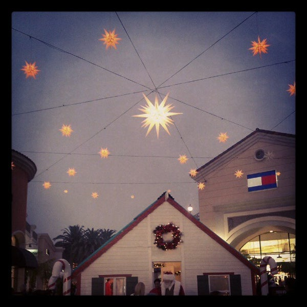 Photo taken at Carlsbad Premium Outlets by Rebecca S. on 11/24/2012