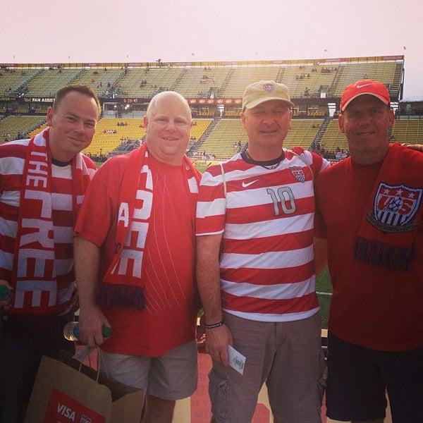 Photo taken at MAPFRE Stadium by Matt M. on 9/10/2013
